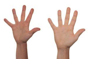 手相の右手と左手の見方とは?意味も違うし年齢によっても強弱がある!
